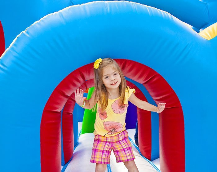 Inflatable Castle at the Village at Sunriver