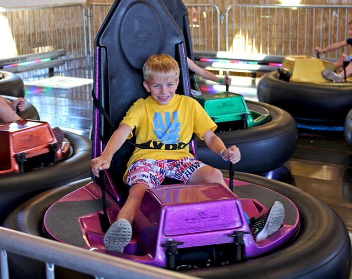 Bumper Cars Village at Sunriver