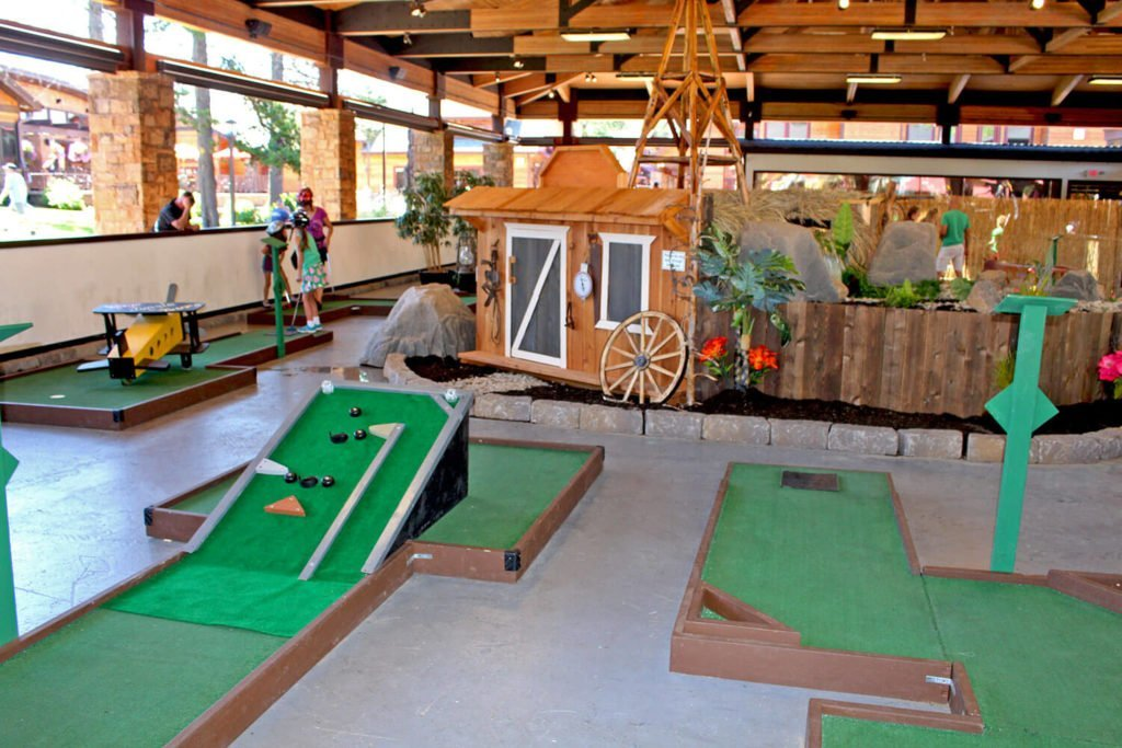 Mini Golf Village at Sunriver